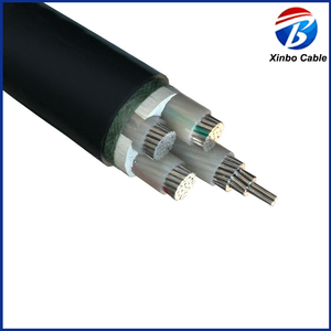 aluminum electric power cable PVC jacket 400mm power cable
