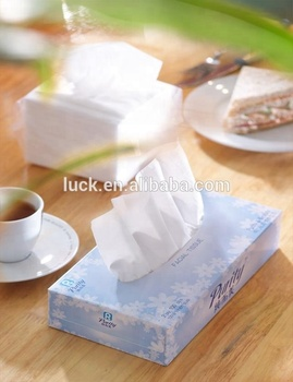 premium soft pack box facial tissue