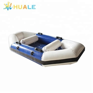 Portable inflatable rowing drift boat, PVC fishing boat inflatable drifting boat for sale