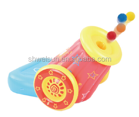 new designs inflatable toys inflatable Cannon Shot set
