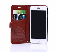 Hot selling leather mobile phone case for iphone 6 leather case