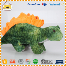 Free Sample Hot Sale Super Soft Simulated Cartoon Dinosaur Toy Big Eyes Green Cute Plush Dinosaur Toy