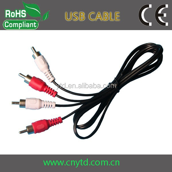 Good Quality rca vag cable usb to red white yellow cable