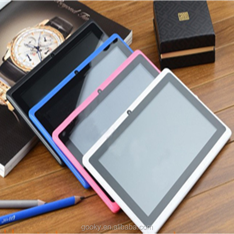 "Q88 7 inch online shop tablets 7"" Tablet PC Android 4.42 Google A33 Quad Core 8GB WiFi double Camera"