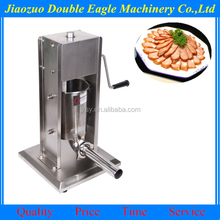 3L 5L 7L 10L 15L full thick stainless steel manual sausage machine/vertical sausage filler
