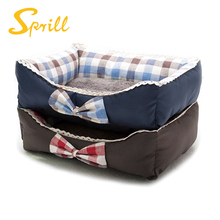 SPRILL Deluxe Pet Bed for Cats and Small Medium Dogs Rectangle