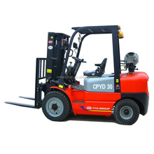 China Top Brand YTO 3ton small hydraulic forklift
