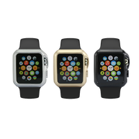 Best promotion gold /silver /black colors cover case for apple watch 38mm / 42mm gel tpu cover