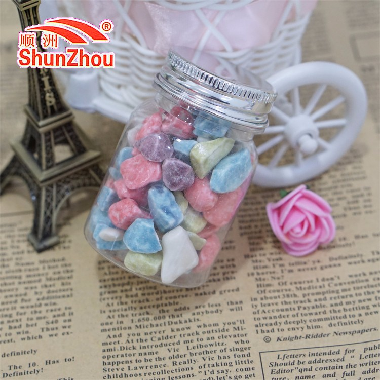 50g colorful rock chewy chocolate candy