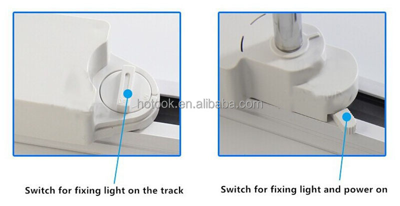 2.4G Milight Wifi Control 7W RGBW LED Track Light