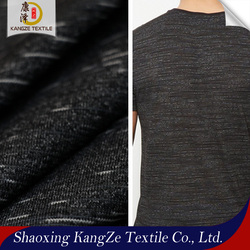 knitted high stretch nylon space dying single jersey fabric for T-shirt