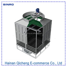 CTI certificate FRP cross flow type small mini water treatment cooling tower low price