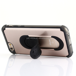 Cheap mobile stand case factory best quality car vents mounts stand case for iphone 6s