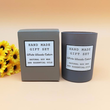 candle Gift Box Mind and Body Scented Candle soy candle wax