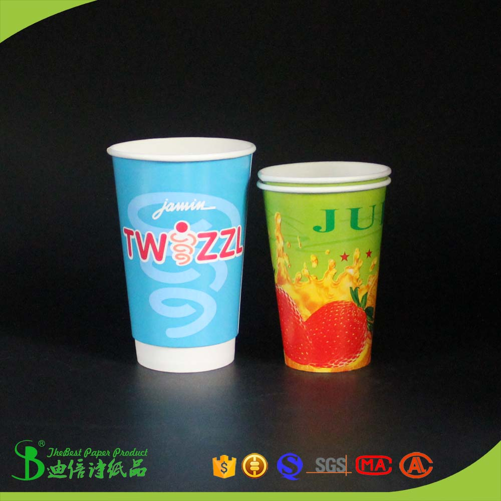 TheBest coffee shop shopping paper cups 8 oz 12 oz 16 oz