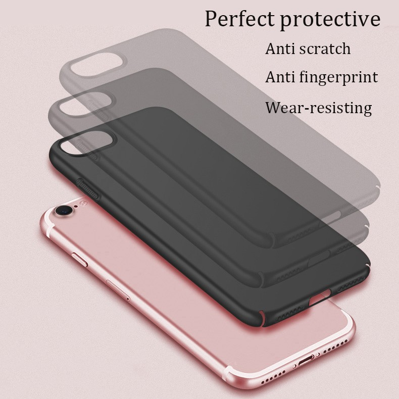 DFIFAN Rubber Oil Painted Case for iphone 6 7 8 Coated Plastic Phone Covers Case for iphone 6 plus 7plus