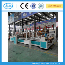 automatic carton folding and gluing machine , automatic corrugated cardboard folder gluer machine