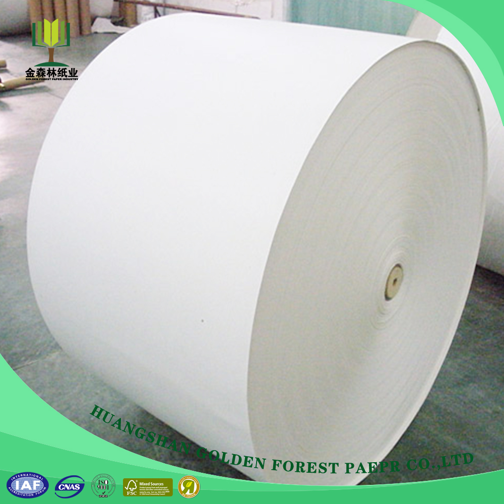 High Quality Cheap Custom Double side White Coated Ivory Board For Tissue Wrapping Paper