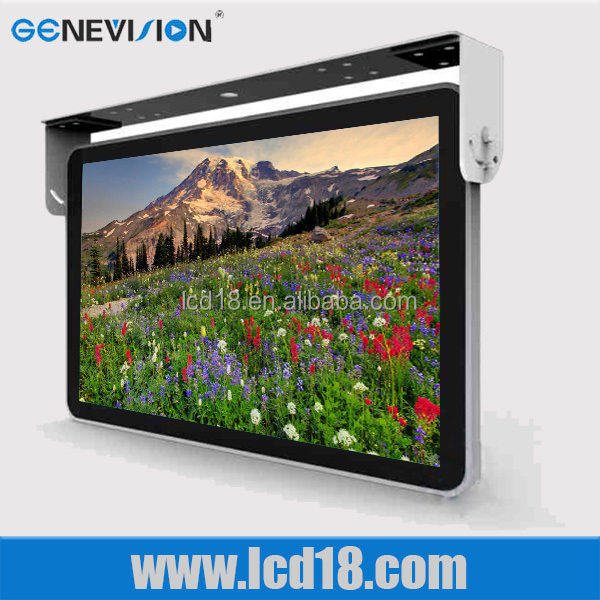 "metal Flip Down/ Roof Mount <strong>10</strong>"" 12"" 13"" 14"" 15"" 17 inch LCD Bus TV Monitor 24V with <strong>speaker</strong>"