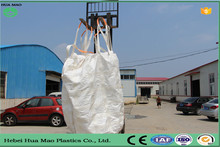 Duffle Top Discharge Bottom Polypropylene 1 Ton Jumbo Bag 1.5 Ton PP Bulk Bag For Sugar With UV Resistant