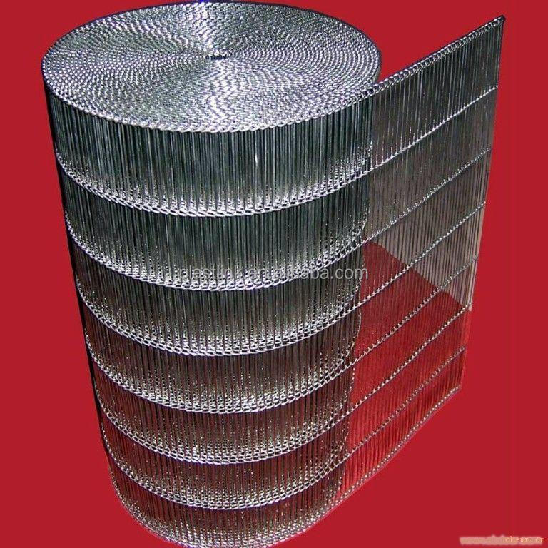 customized stainless steel flat flex wire mesh conveyor belt in shanghai