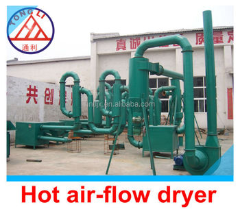 low consumption wet sawdust dryer machine airflow dryer