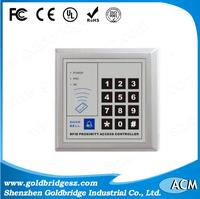 Distributor Price of Single Door Access Control Terminal ACM2000C keyboard password bottom price rfid card access reader