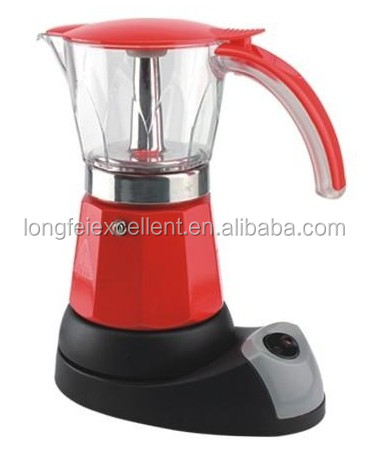 espresso coffee maker moka coffee pot/electric moka coffee maker