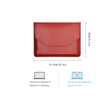 PU Leather Carrying Laptop Notebook Sleeve Bag for Apple New Macbook 12''
