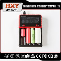 4 slots 18650 battery charger Multifunctional LCD battery charger