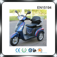 2015 direct factory supply 48v 500w 3 wheel motorcycle with roof