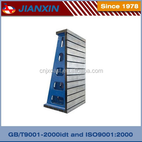 With T-slot inspection cast iron angle plate
