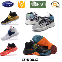 Customized sports shoes hight quality famous brand model new design mens hight cut authentic basketball shoes