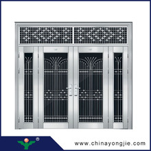 new design Home Security Stainless Steel Door Design stainless steel checkered plate