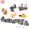 2017 Factory Price Chips Whole Line Potato Sticks Plant Potato Chips Making Machine Frozen French Fries Production