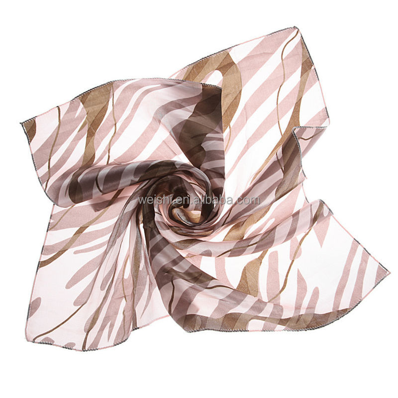 Newest style fashion chinese silk scarf