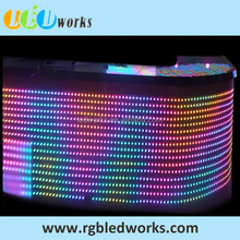 Madrix software compatible dmx led rgb strip flexible