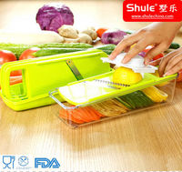 Multi-Function Food Safe Plastic Vegetable and Fruit Manual Shredder
