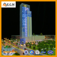 Hotel Scale Model,commercial building model