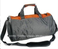 TKL09376 Polyester Gray Foldable Travel Bag