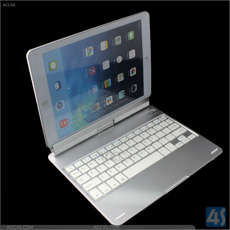 360 degree Rotation keyboard for ipad Air 2, for ipad 6 wireless Bleutooth keyboard