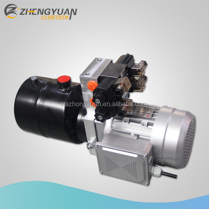 220V AC double acting mini hydraulic power pack for hydraulic system
