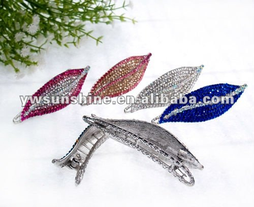 Hot sell color asian hair clip ornament