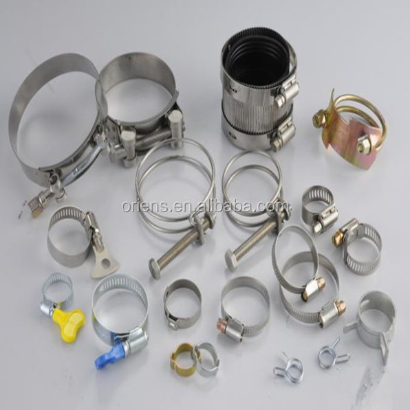 China Supplier Custom Snap Ring Clamp O Ring Clamps Lock Ring Clamps