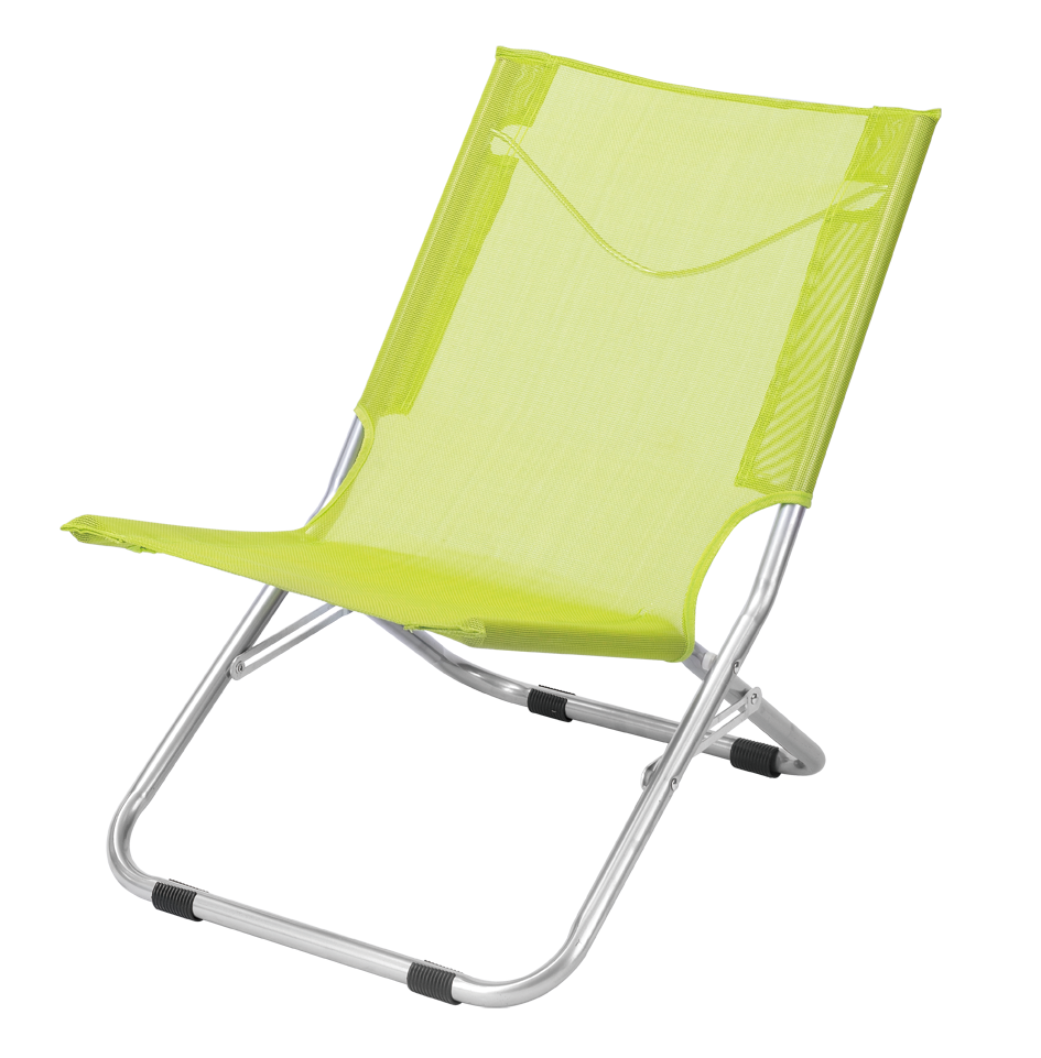 Lightweight Easy Carry Teslin Beach Folding Chair For