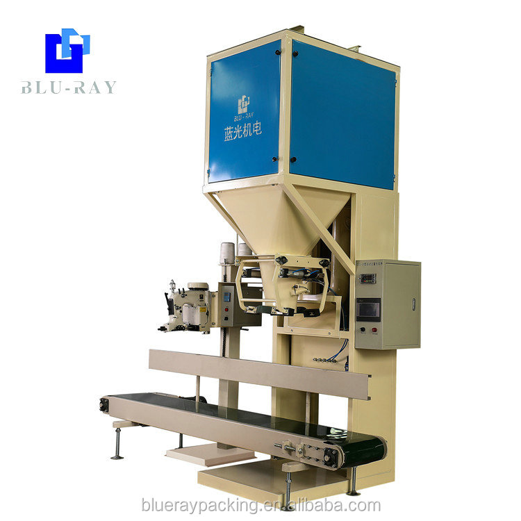 Blueray high quality gravity feeding net weight filling machine