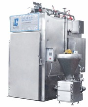 Factory Equipment Smoked Fish House Furnaces Bacon Bake Oven Meat Food Smokehouse Machine