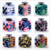 Fidget Cube Camouflage Decompression Hand Toy Fidget Spinner Magic Camo Colorful Dice Anti Stress Toys
