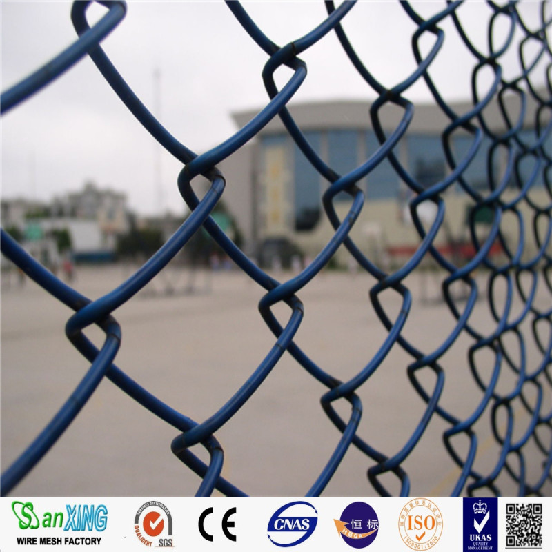 Electric galvanized chain link fence Cheap Farm Fence