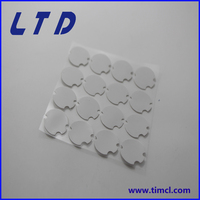 diameter 22mm thickness 0.5mm silicone thermal pad with 2.5w/m-k